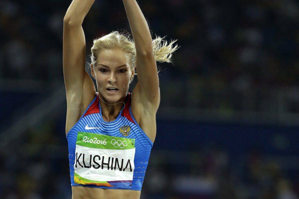 俄羅斯跳遠美女克莉席娜雖然上訴成功獲准參與跳遠比賽,不過她在決賽以6公尺63成績...