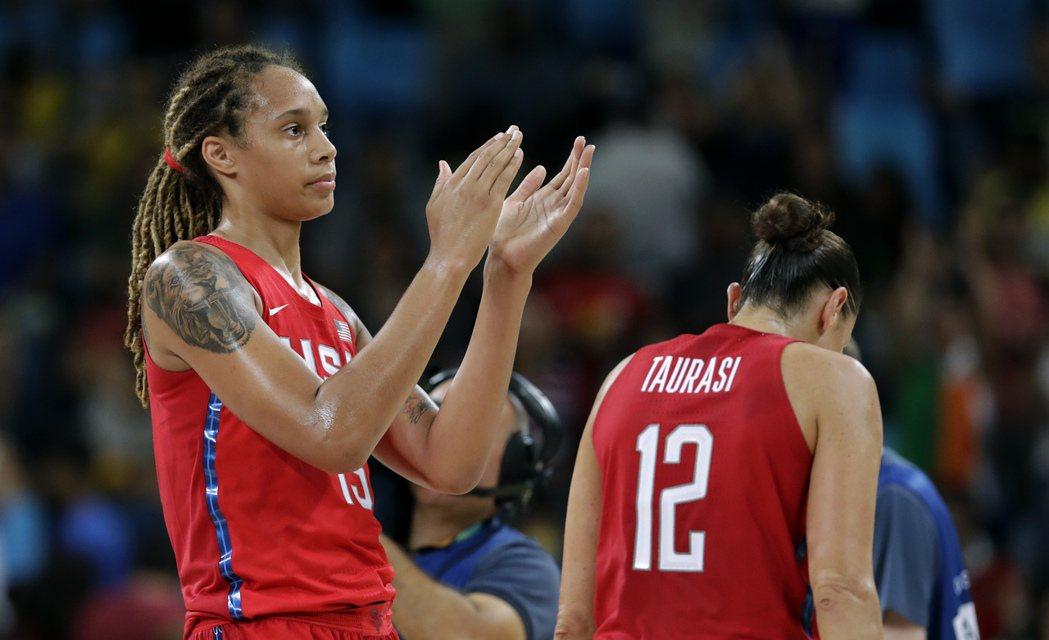 美國女籃順利進決賽,將挑戰奧運六連霸。 美聯社