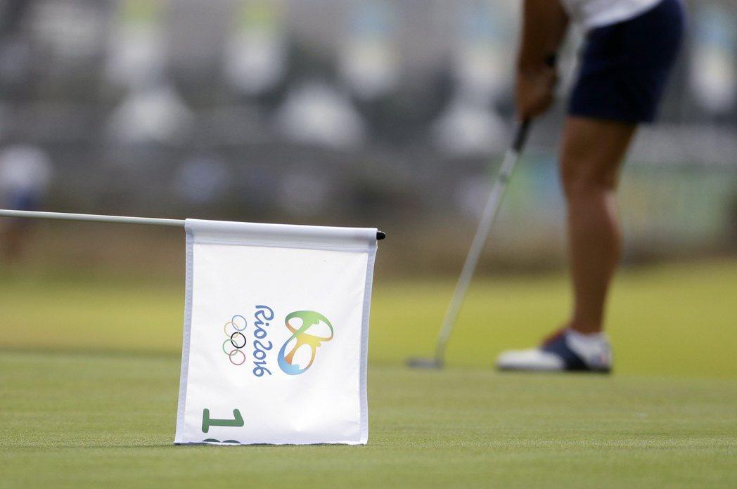 里約奧運高球場上演動物奇觀。 美聯社