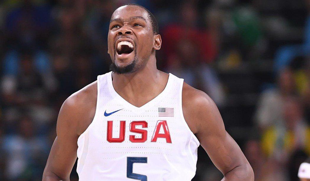 杜蘭特的表現好壞與否將牽動著美國隊能否順利完成金牌三連霸。 NBA