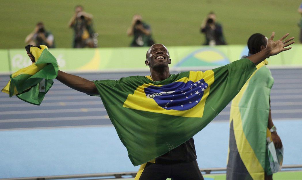 柏特說大量奉獻投入田徑運動是他不可思議的奧運生涯的背後因素。 美聯社