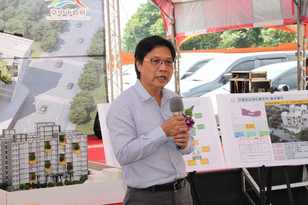 內政部長葉俊榮指出,政府興建社會住宅的任督二脈已經打通。記者黃寅/攝影