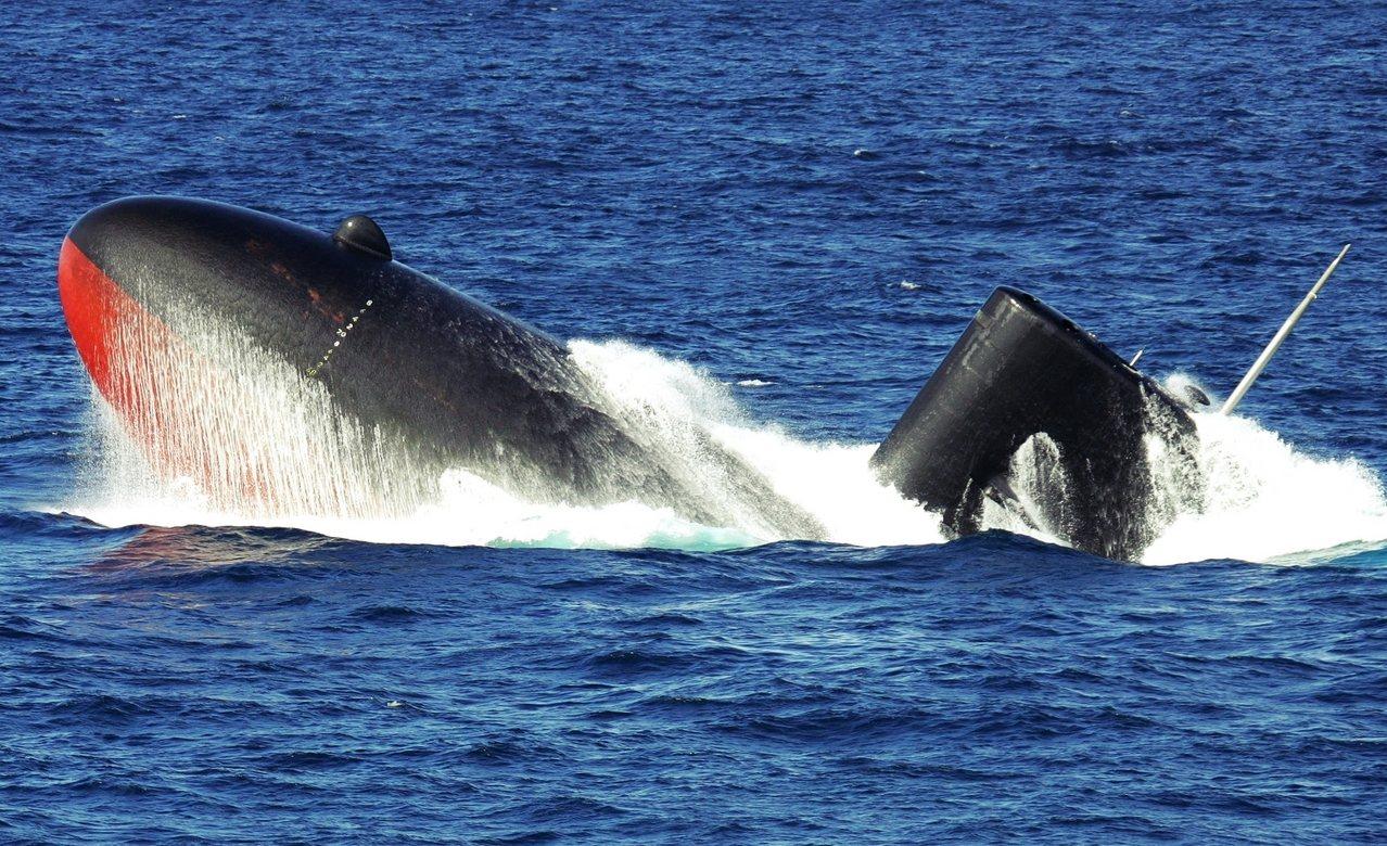 從日本在這起潛艦案的競標行動來看,最後出局完全是自找的。圖為已經除役的日本汐潮級...