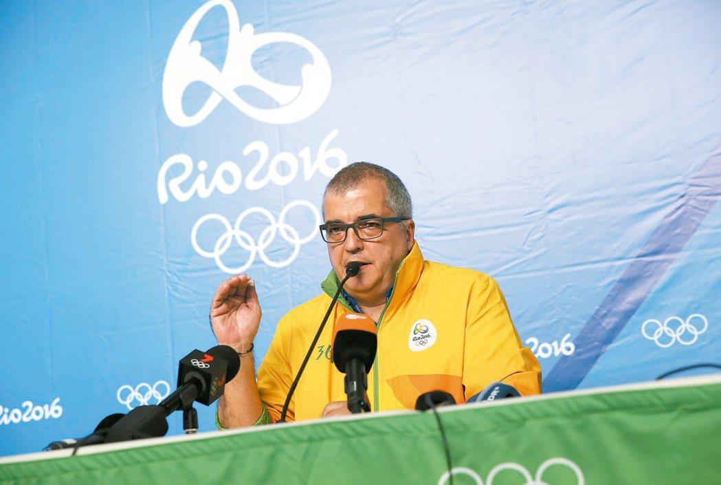 安德拉達可能是里約奧運最忙的官員,他要等到殘障奧運結束才能真正解脫。 路透