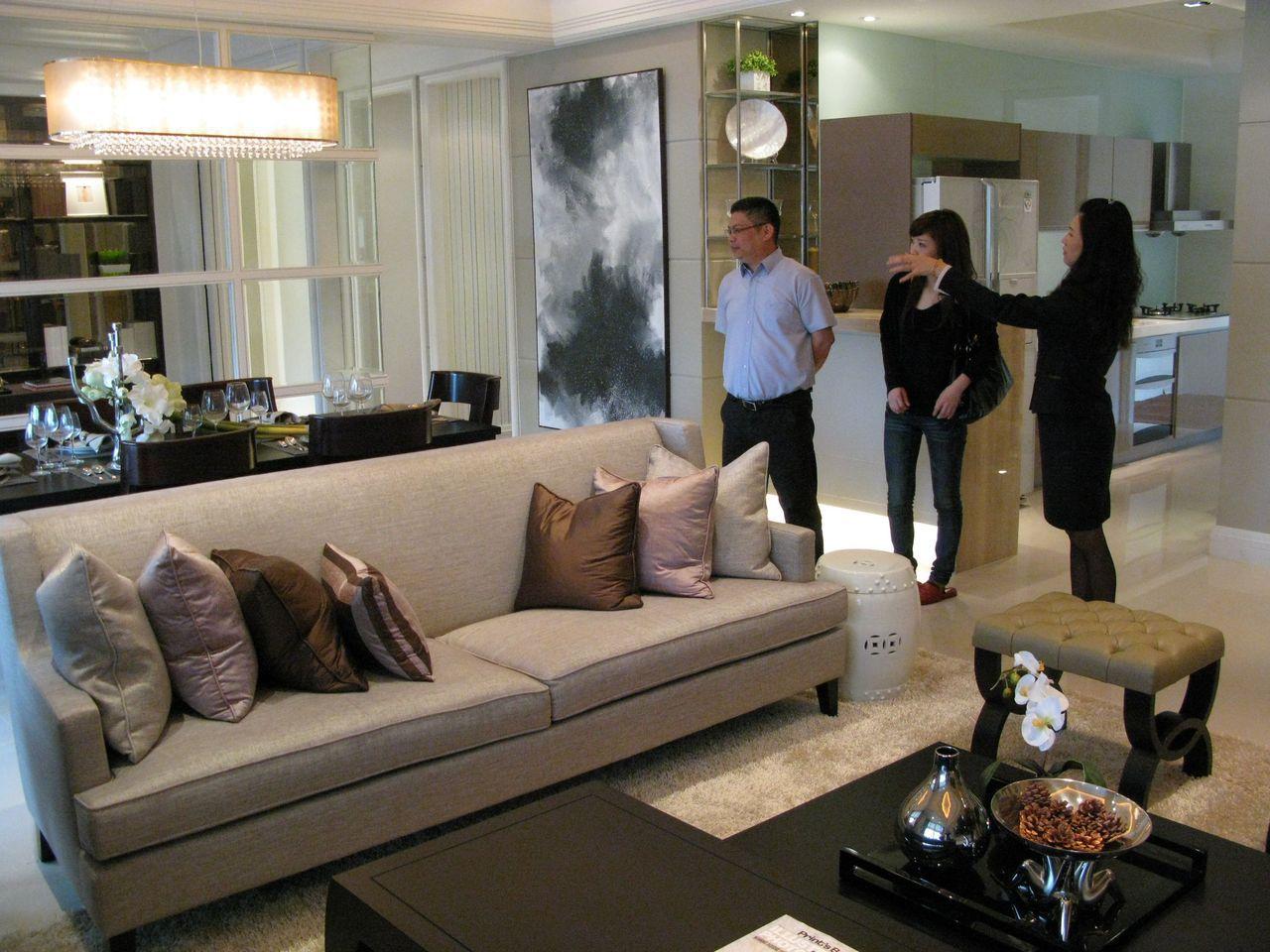 台中市最新推出的勞工住宅每坪只要13萬元,無殼的勞工有福了。記者宋健生/攝影