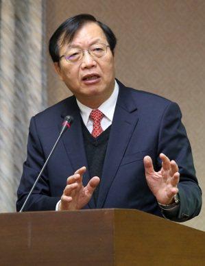 內政部前部長陳威仁。 (本報系資料庫)