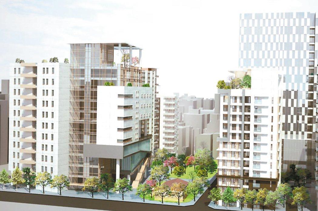 台大紹興南街公辦都更案昨公開招商,將興建智慧健康生活園區。 圖/北市都發局提供