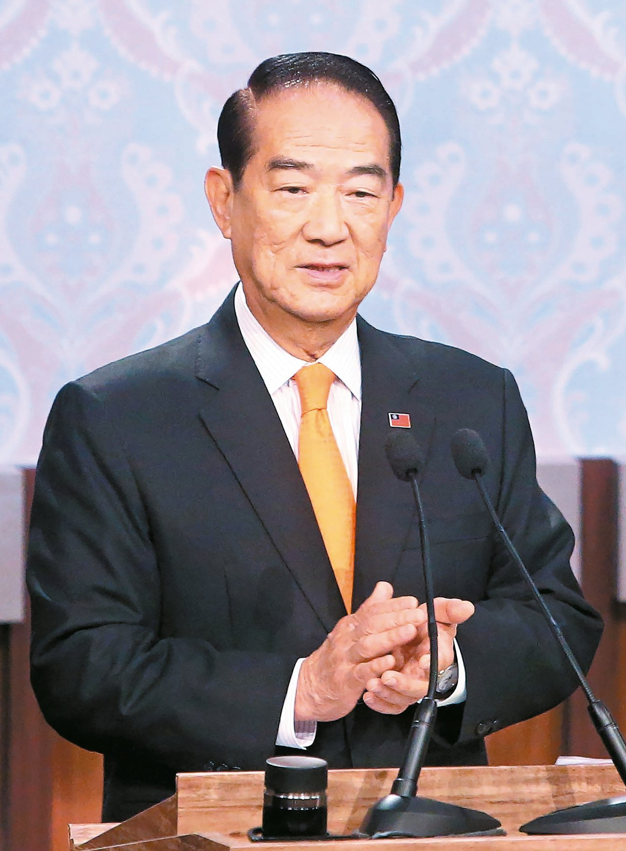蔡英文總統已邀請親民黨主席宋楚瑜擔任特使,出席今年APEC領袖會議。 本報系資料...