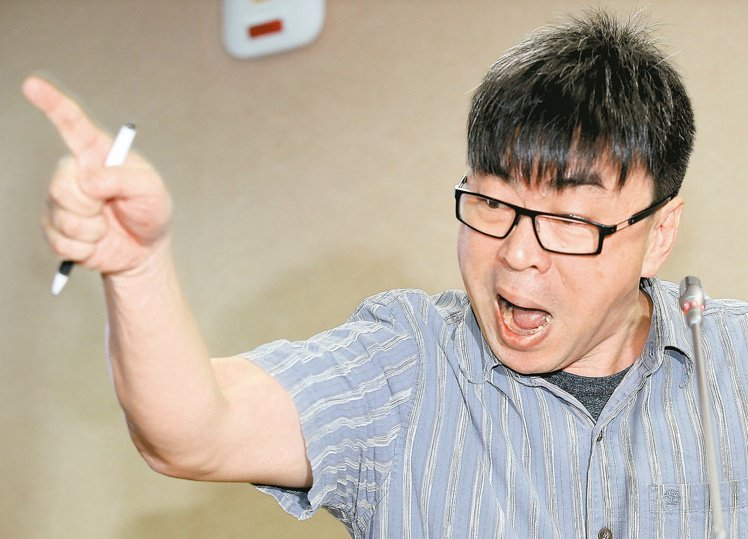民進黨立委段宜康。 聯合報資料照片