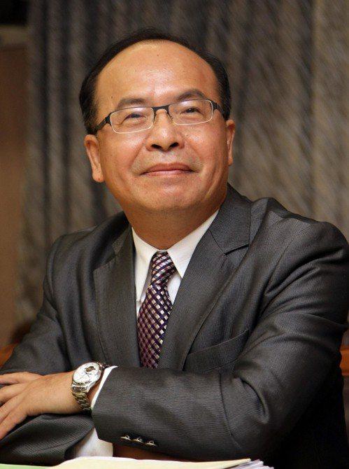 中央社董事長陳國祥。 聯合報系資料照