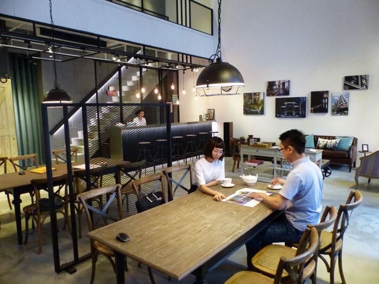 同興協記「九悅」接待會館,看起來像主題咖啡館。記者趙容萱/攝影