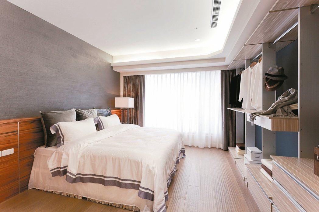 挑選主臥室空間,以格局方正完整為首選。 圖/永慶居家中心提供
