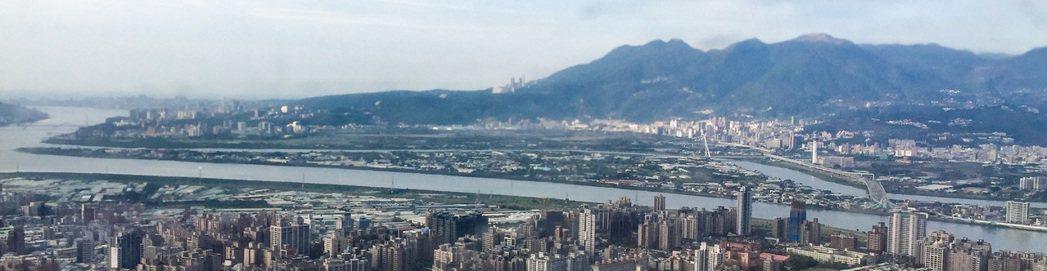 台北市社子島。圖/本報資料照片