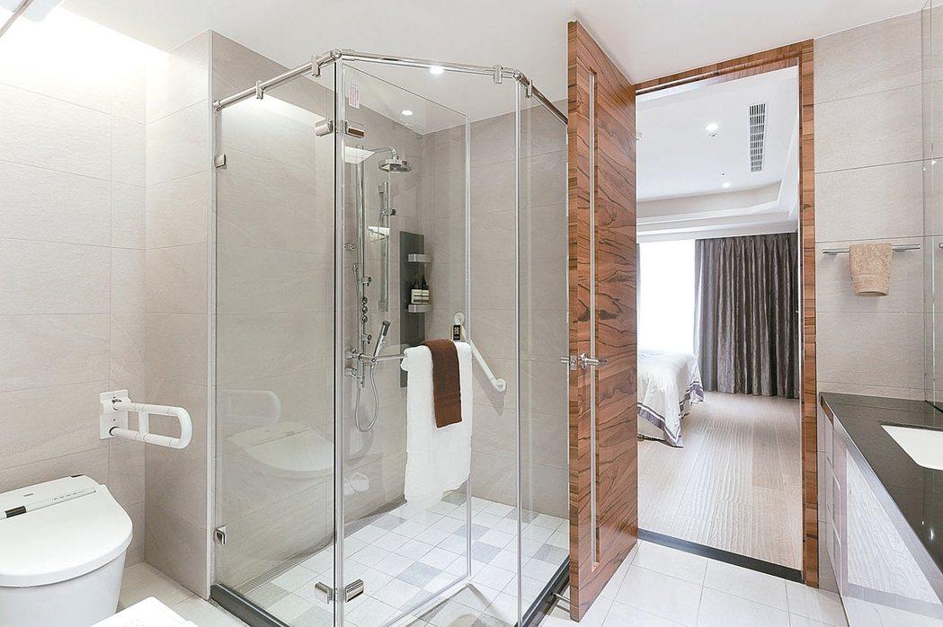 使用率最高的浴室,排名中古屋改造第一名。 永慶房產/提供