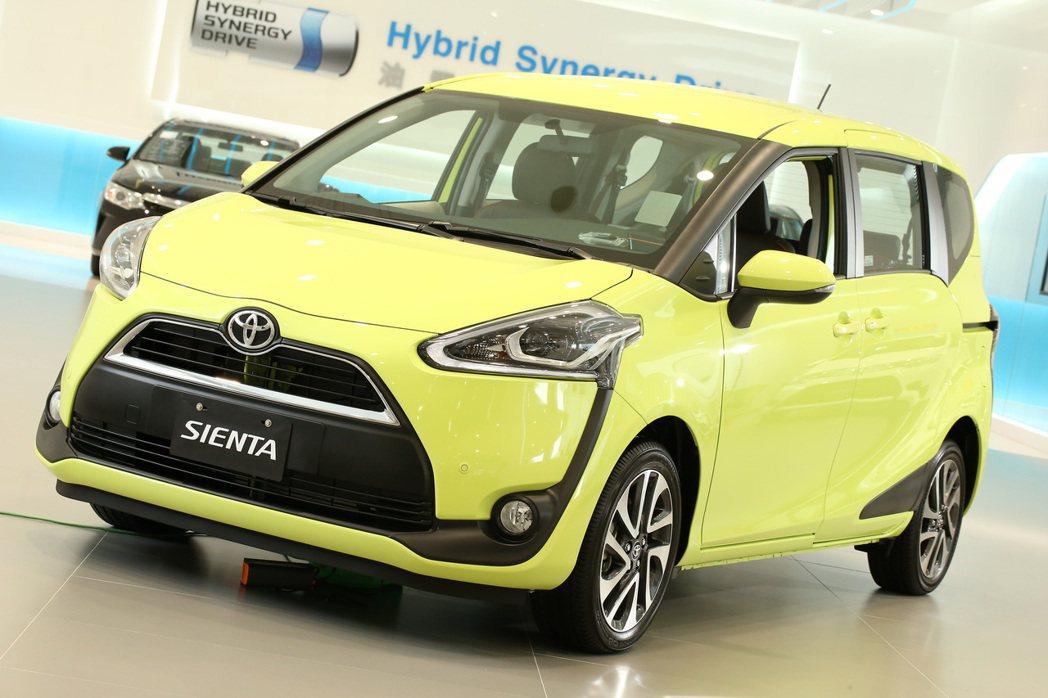 Toyota Sienta將於11月下旬正式國產化導入台灣市場。 記者陳立凱/攝...