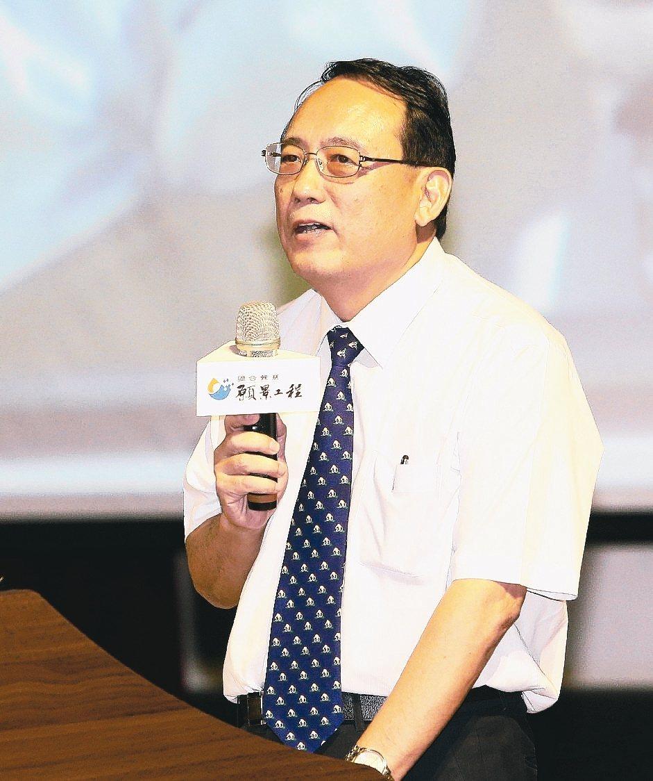 屏科大校長戴昌賢。 記者劉學聖/攝影