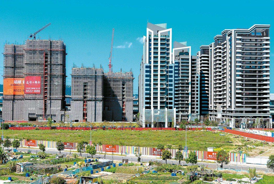 隨著各地房價下修,國人開始喜歡買新房子。 圖/報系資料照