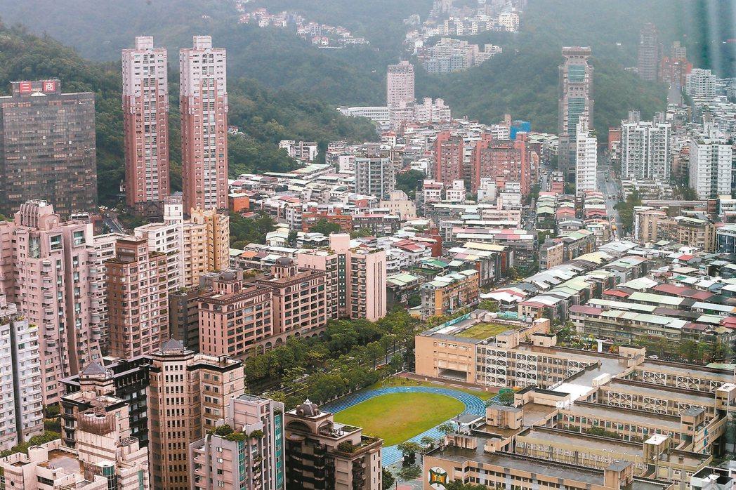 台北市信義區列名六都空屋率低的第五名。 報系資料照片