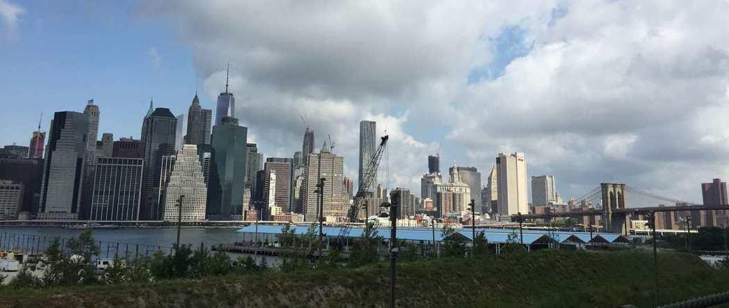 紐約市房地產火熱,第三季數據亮眼。記者黃伊奕/攝影