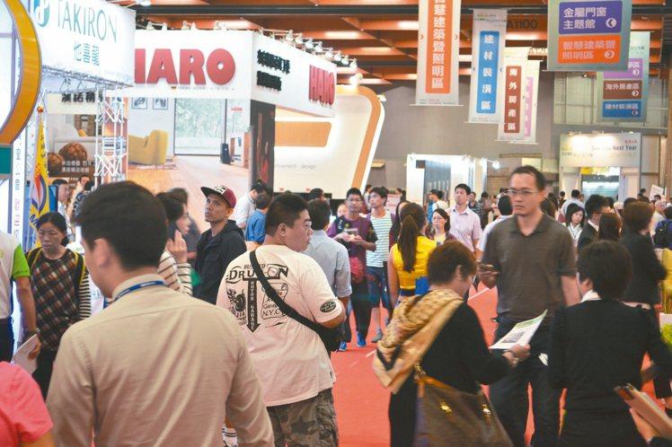 台北國際建材家具大展是歷史最悠久的建材展,買氣最旺,今年展期在11月18日至21...