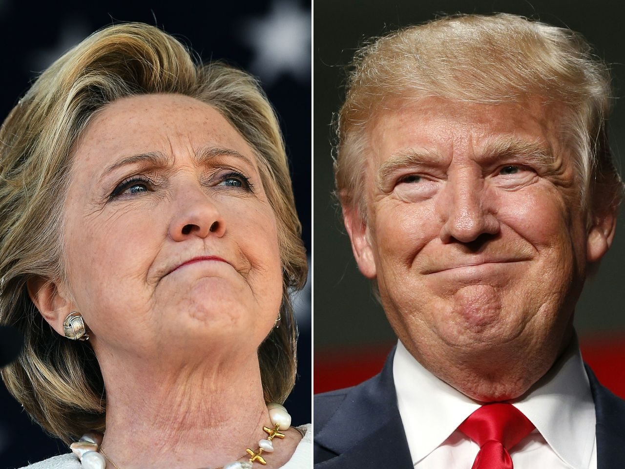 美國總統大選只剩下五天,民調顯示雙方差距縮小,民主黨的希拉蕊.柯林頓僅以微幅差距...