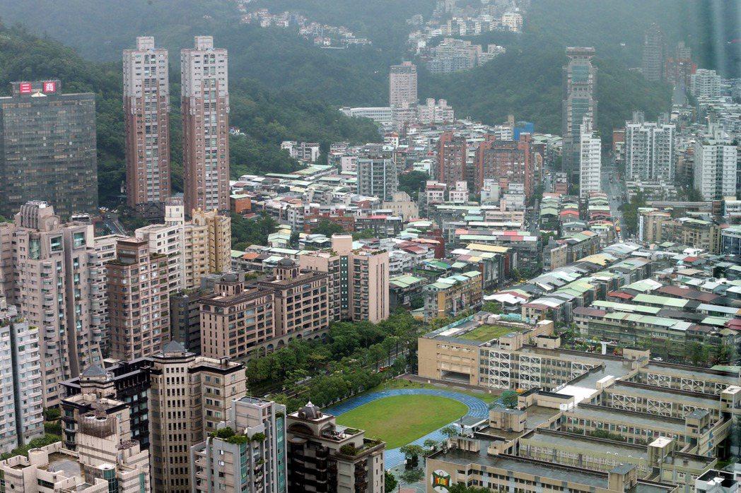 台北市信義區。記者邱德祥/攝影