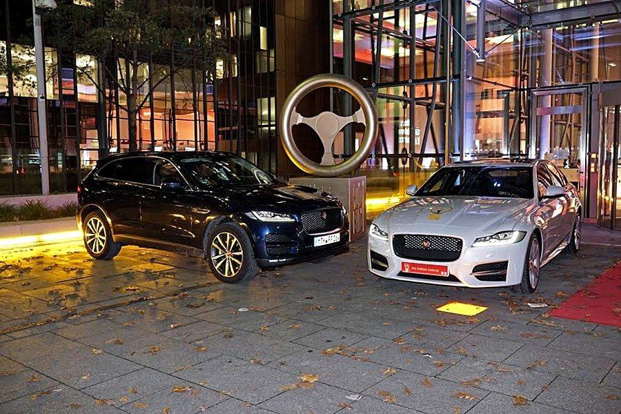 Jaguar XF奪得德國頂級汽車大獎金舵獎「最佳中型車大獎」殊榮;F-PACE...