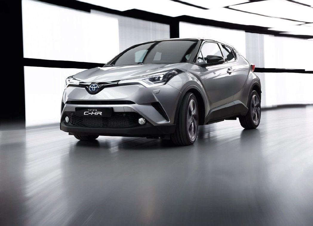 Toyota C-HR。 圖/Toyota提供