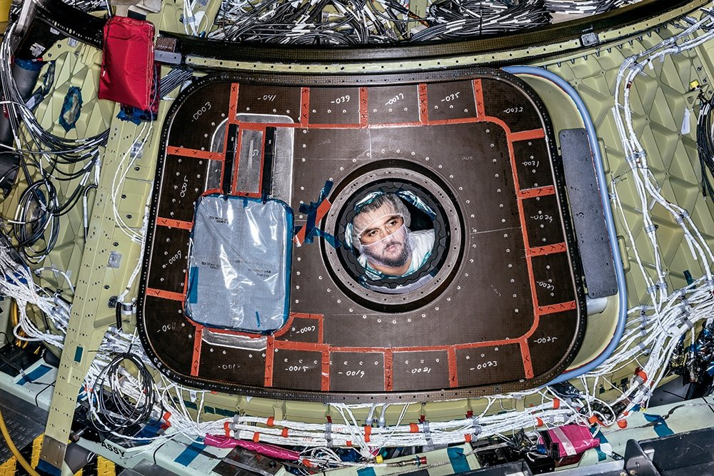 Photos from the Boeing CST-100 Starliner...