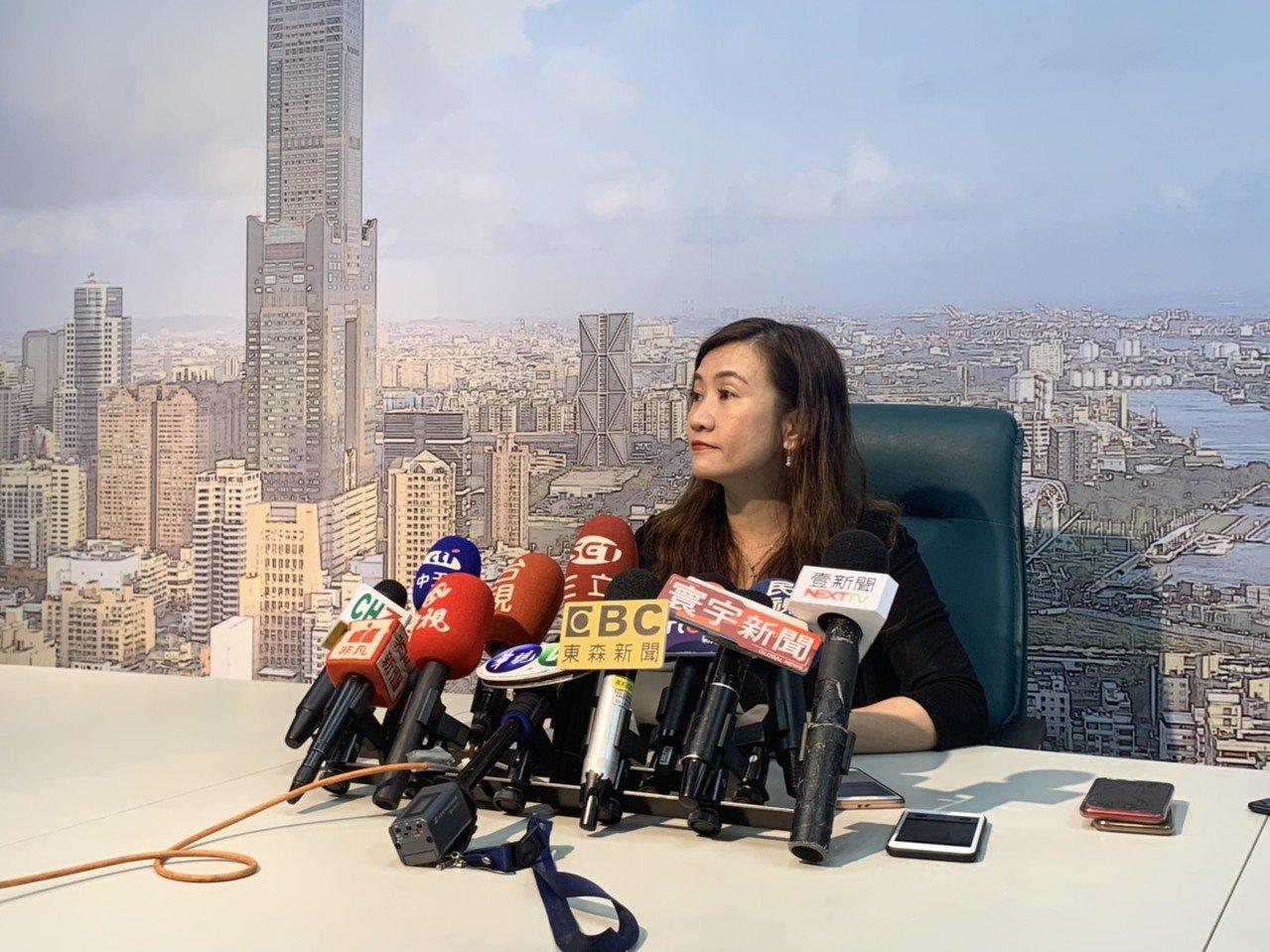 高雄市新闻局长王浅秋。记者蔡孟妤/摄影