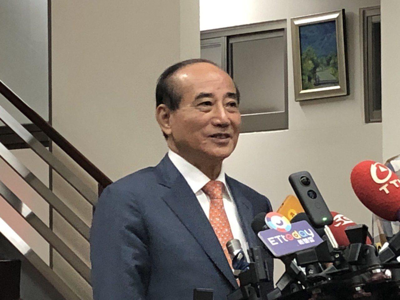 王金平。联合报系资料照片/记者张文馨摄影