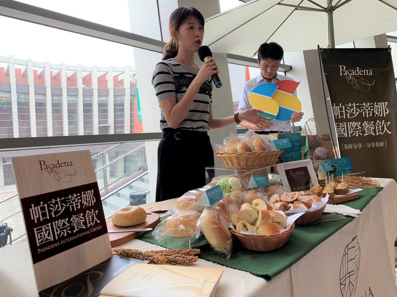 在今年的台湾设计展中,主办单位还特别邀请帕莎蒂娜烘焙坊开设Pop-up Shop...