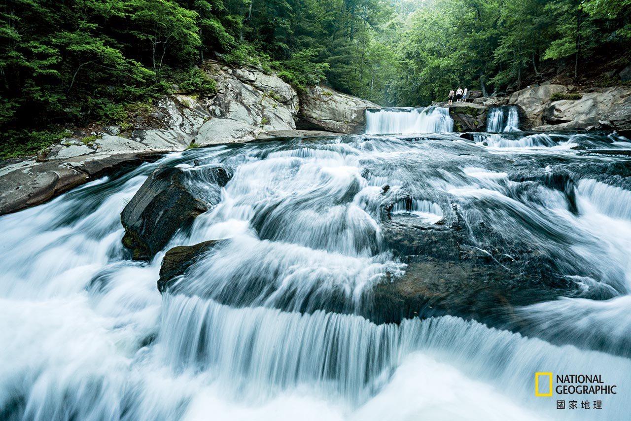 赫拉西姆恰克在淡水中拍摄照片,例如这条拥有多样生物的特利科河。 Southern...
