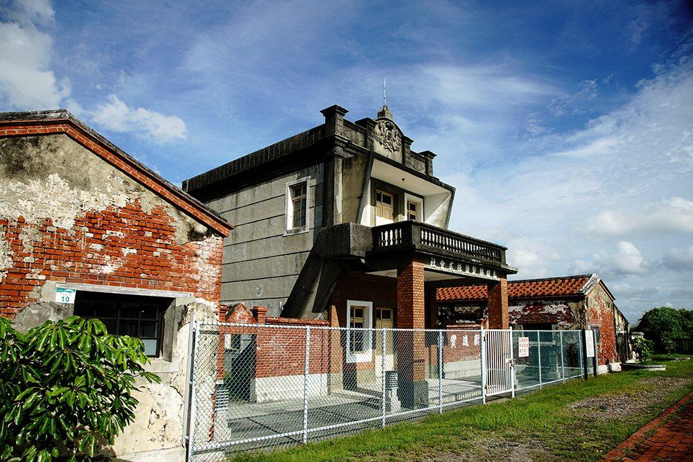 乌树林制盐株式会社办公室为市定古迹。 (摄影/曾信耀)