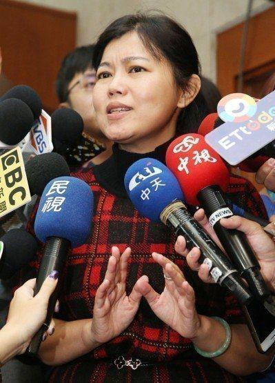 台北市议员游淑慧。 联合报系资料照/记者林俊良摄影
