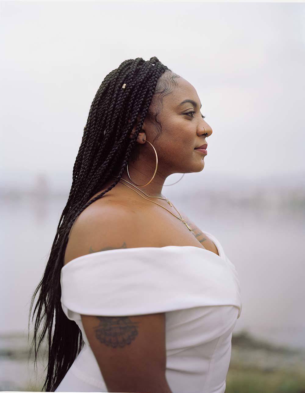 「我能够忽略别人对我说「不」的回答。」 艾莉西亚.加尔萨「#黑人的命也是命」的共...