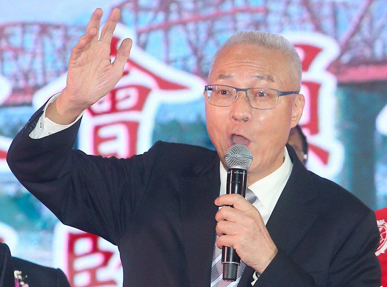 国民党主席吴敦义。 联合报系资料照/记者余承翰摄影
