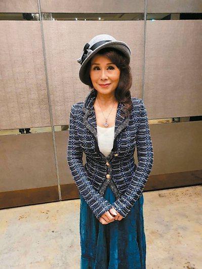 资深艺人张琍敏昨天说获判无罪很开心,希望陈菊不要上诉。 记者王圣藜/摄影