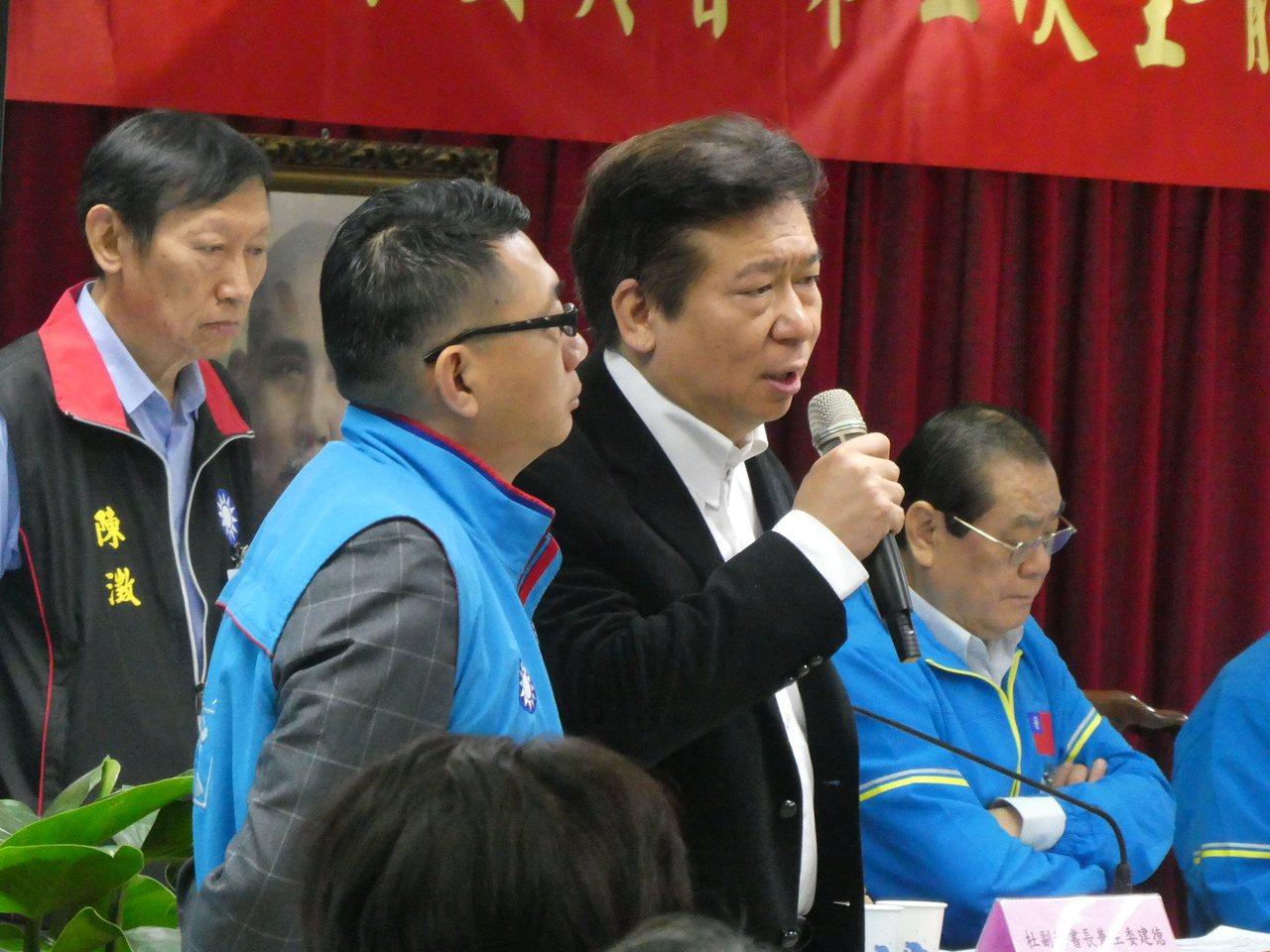 国民党上午召开中央委员会议对下届不分区立委提名人进行同意权投票,最后仅陆委会前副...