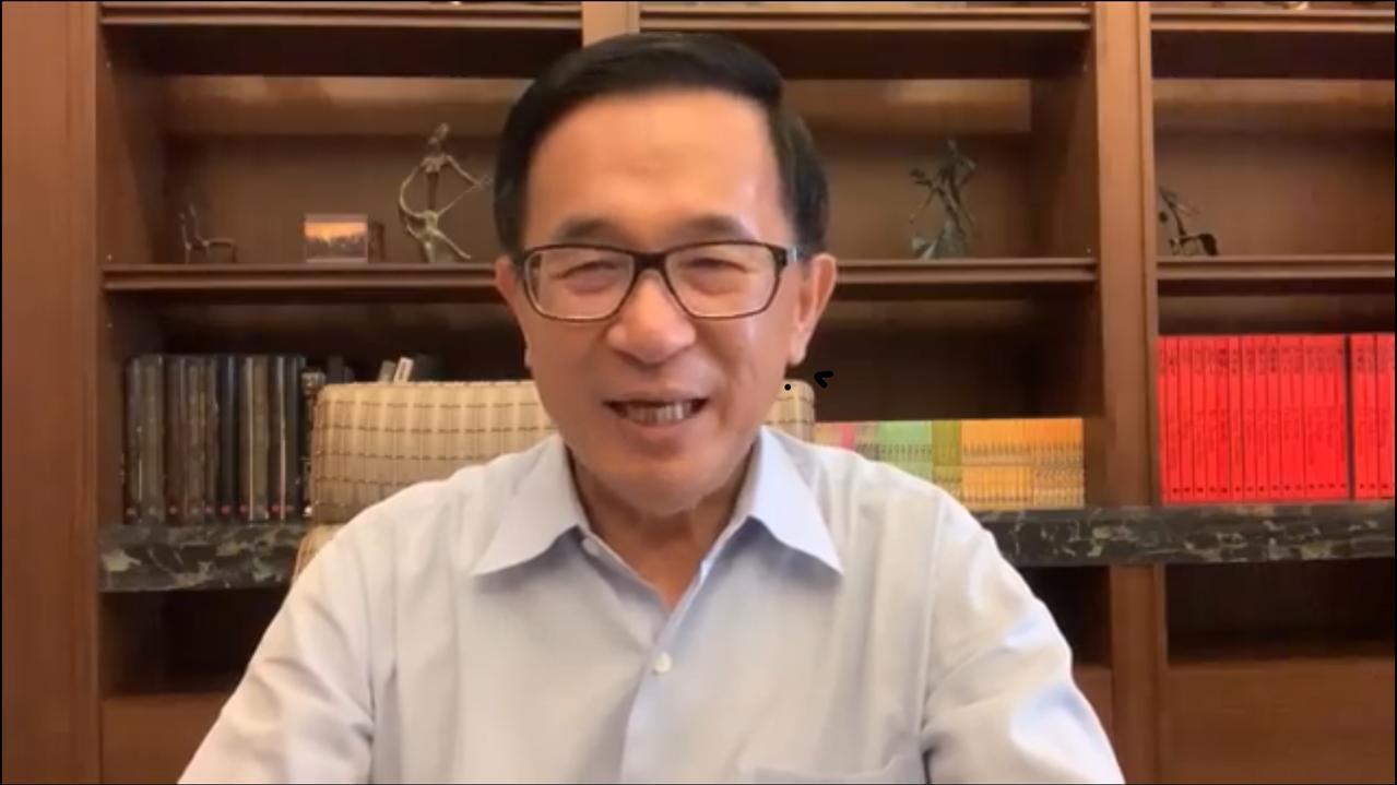 前总统陈水扁。图/翻摄陈水扁脸书