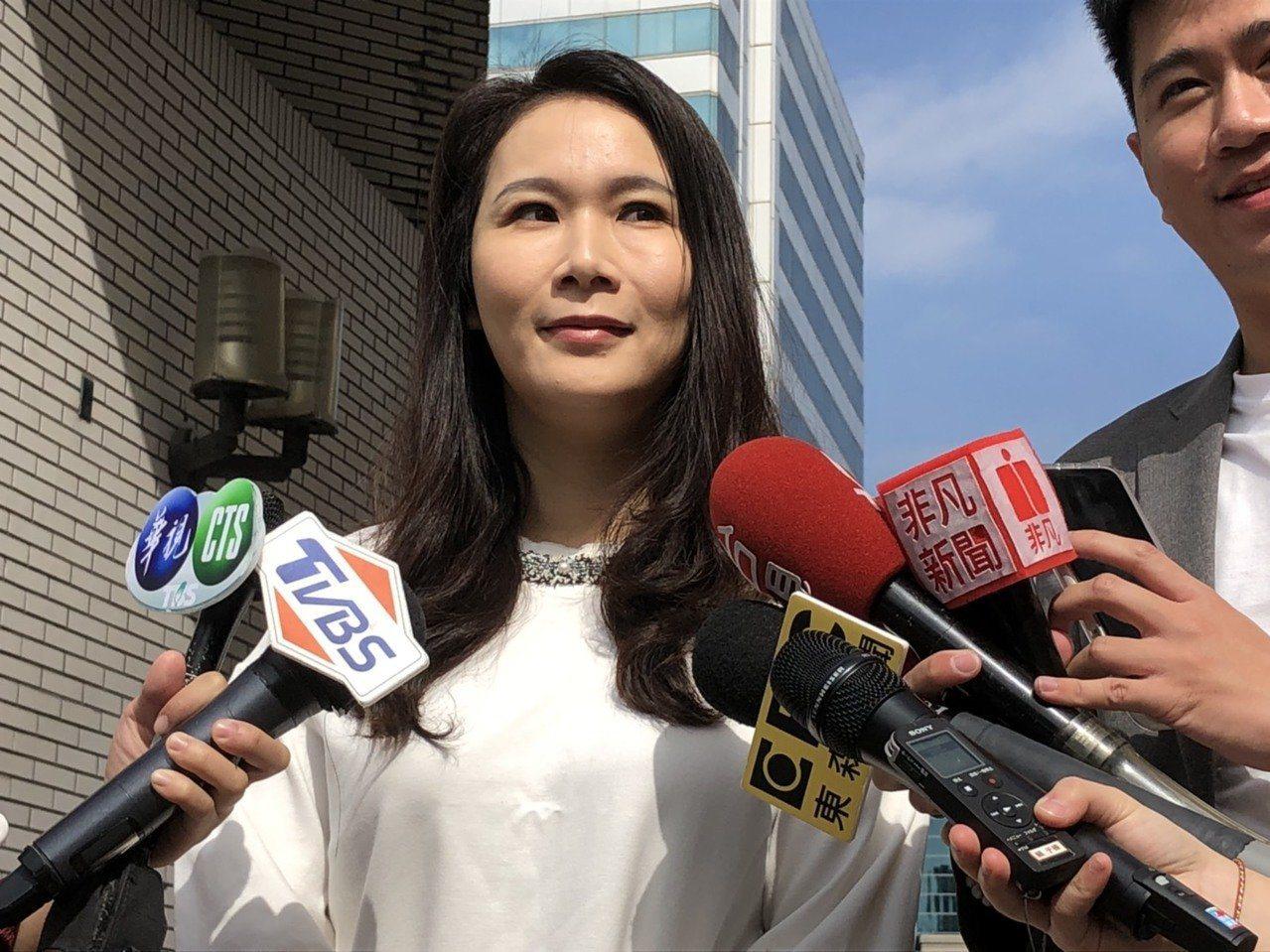 郭台铭幕僚之一、永龄基金会执行长刘宥彤。图/联合报系资料照片