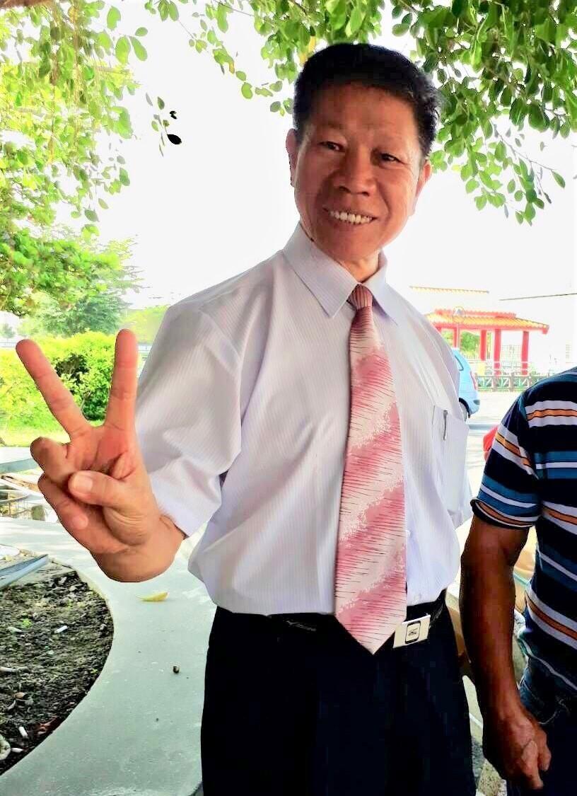 在党内提名初选败给庄瑞雄的前立委郑朝明,周一领表后,今天在脸书上发表「参选宣言」...