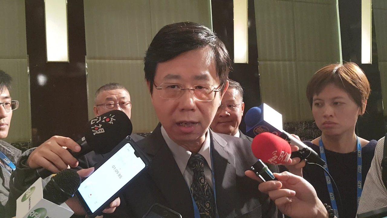 调查局长吕文忠。图/资料照片
