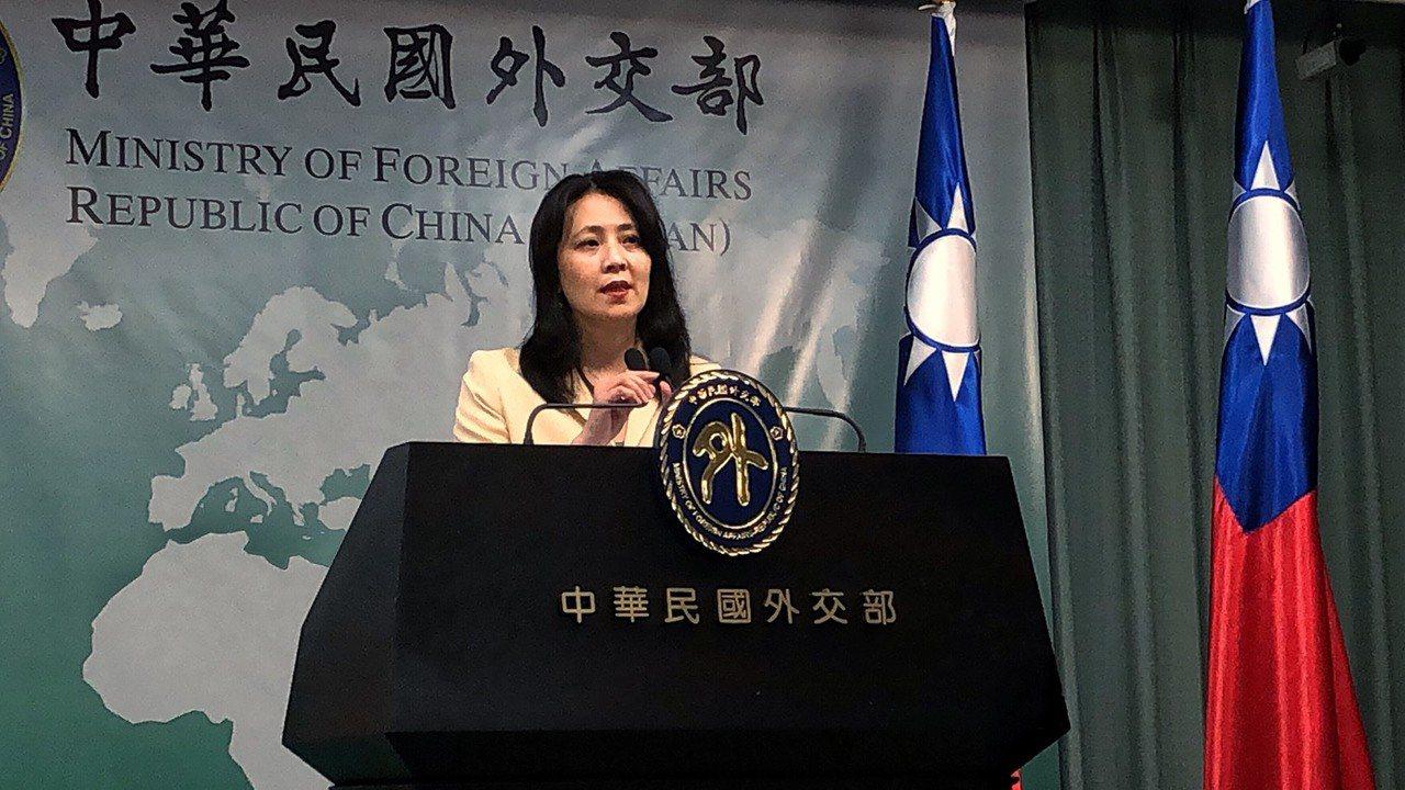 外交部发言人欧江安。本报资料照片