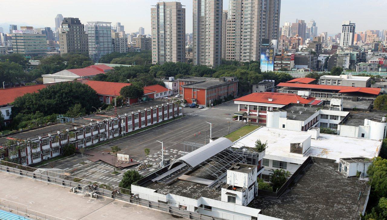 台北市大安区精华地段的空军总部旧址。记者林澔一/摄影