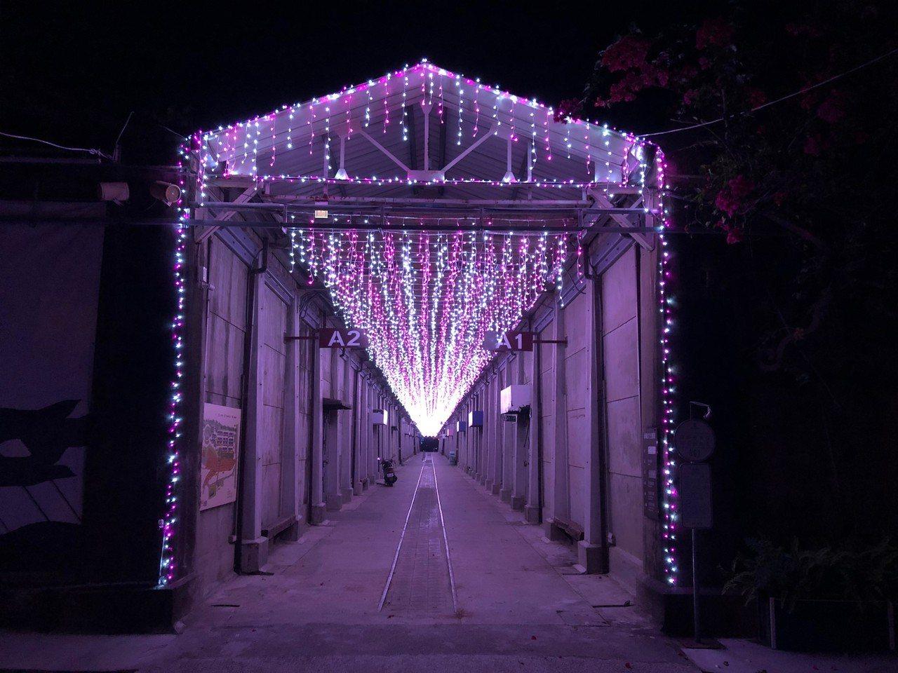 台南耶诞跨年系列活动,第二场在萧柯文化园区登场。图/台南巿府提供