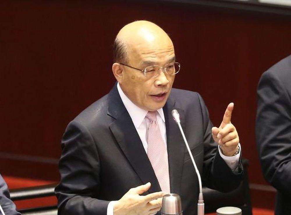 行政院长苏贞昌。图/联合报系资料照片