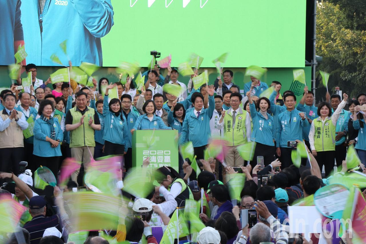 蔡英文台南市竞选总部今天成立。记者郑维真/摄影