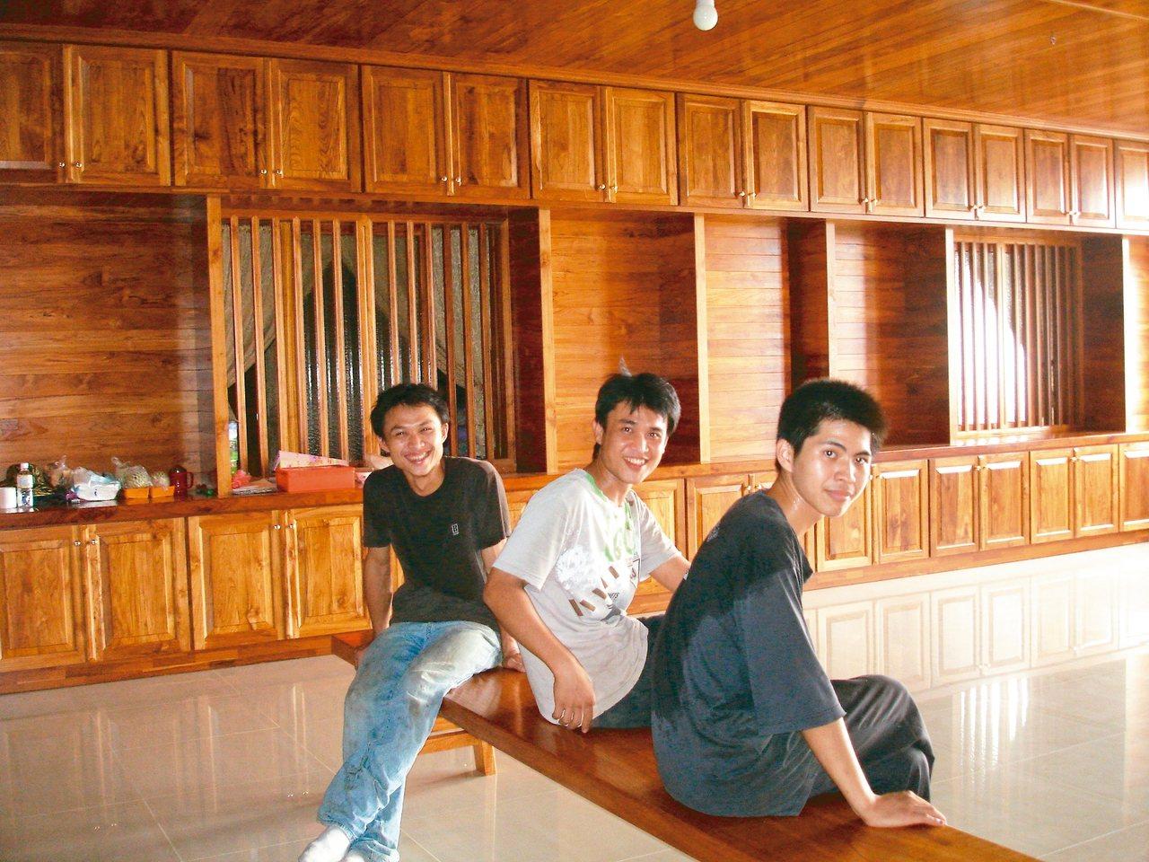 台南真理家族前辈堂由住户自行装潢。 图/联合报系资料照片