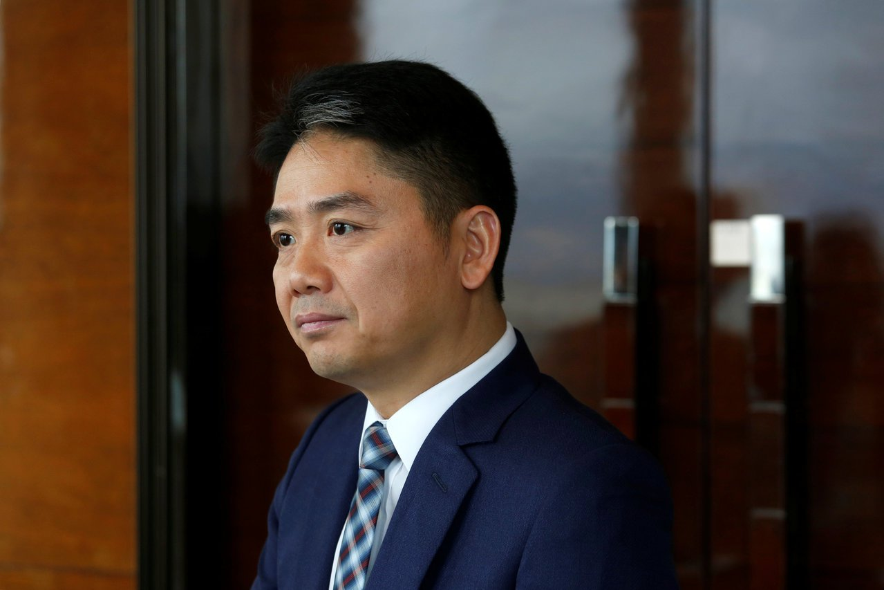 刘强东。 路透资料照片